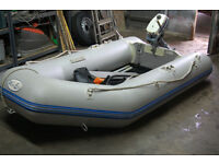 Waveco 2.7 mtr dinghy/rib with Evinrude 2hp outboard engine