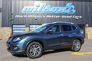 2014 Nissan Rogue SL AWD! $85/WK, 4.47% ZERO DOWN! LEATHER! SUNR