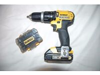 DeWalt DCD785 18v Cordless Power Drill with Battery and Adaptor Set