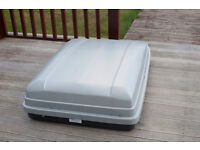 Large Thule Car Roof Box 50 inches long by 36 inches wide (Roof Bars Not Included)