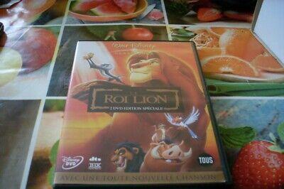 film 2 dvd walt disney enfant dessin animé LE ROI LION rare edition speciale