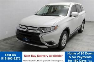 2016 Mitsubishi Outlander ES 4WD! HEATED SEATS! POWER PACKAGE! A