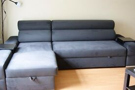 Corner Sofa Bed like new only 6 months old