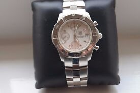 Tag Heuer 2000 Exclusive automatic mechanical chronograph wristwatch - CN2110-0 - Swiss - Cal 16