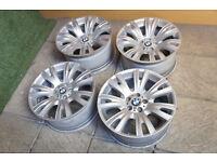 "Genuine BMW X5 19"" Alloy wheels 5x120 Staggered 223M E70 X6"