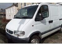 Movano Panel Van, 2.8DTi, MOT until April 2017