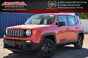 2016 Jeep Renegade NEW Car Sport 4x4|Keyless,Sound,Power Air Pkg