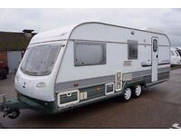 Avondale landranger 4berth twin axle end washroom shower 5900 1998