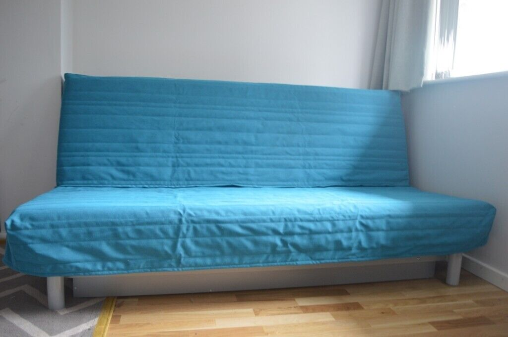 Ikea Beddinge 3 Seater Sofa Bed With Mattress Cover Storage Box And Fire Safety Label