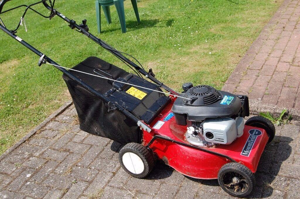 mountfield mercury pd sp lawnmower honda  gvc  engine  chepstow monmouthshire