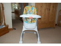 Multi function Fisher Price high chair