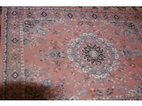 Ambassador Wilton Machine Knotted 170 x 120 cms Persian Design Rug Used.