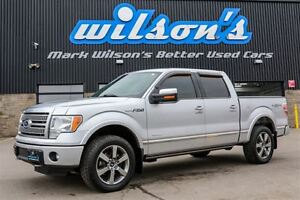 2011 Ford F-150 Platinum! $137/WEEKLY@6.24%  4WD! LEATHER! NAVIG