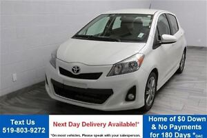 2012 Toyota Yaris SE w/ ALLOYS! POWER PACKAGE! CRUISE CONTROL! A