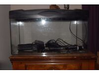 2 ft tank with all accessories included