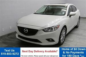 2014 Mazda MAZDA6 GS-SKYACTIV w/ NAVIGATION! LEATHER! SUNROOF! R