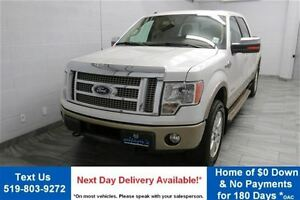 2012 Ford F-150 KING RANCH 4WD SUPERCREW! 3.5L ECOBOOST! NAVIGAT