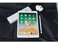 IPad Pro unlocked to all networks (cellular) + apple pencil + charger+cable
