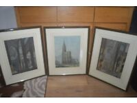 Three pictures for sale.