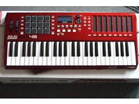 Akai Max49 CV USB Midi Keyboard with box