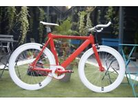 Brand new NOLOGO X single speed fixed gear fixie bike/ road bike/ bicycles + 1year warranty tt1