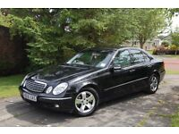 MERCEDES BENZ E200 ELEGANCE NGT, FULL LEATHER, LOW MILES, 2006