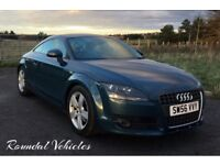 Audi TT 2.0 turbo coupe, high miles but ASTONISHING history !!, 2 timing belt changes immaculate car