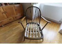 VINTAGE ERCOL: 203 WINDSOR ARMCHAIR, Golden Dawn - Project Piece