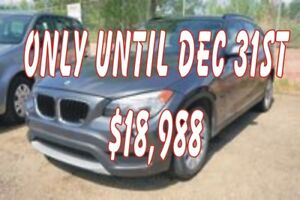 2014 BMW X1 xDrive28i  Leather, Powersunroof, Heated Seats, Pa