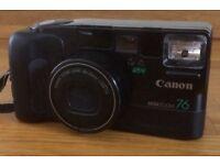 Canon mega zoom 76 film camera