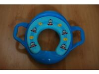 Thomas Soft Padded Potty Training Toilet Seat With Handles.