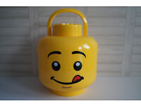 Lego Sort and Store Storage Smiley Face XXL Box Tub Holds Up To 1000 Bricks