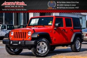 2017 Jeep WRANGLER UNLIMITED New Car Sport|4x4|PwrConven.Pkg|AC|