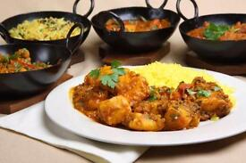 Staff wanted for Indian kitchen and delivery driver