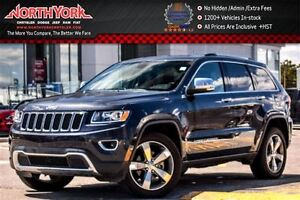 2016 Jeep Grand Cherokee Limited|4x4|Sunroof|Navi|HtdSeats|RearC