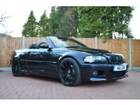 2004 BMW M3 Convertible E46 3.2 SMG Sequential, 13 Service Stamps, Immaculate