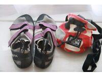 Scarpa climbing shoes - women's size 39