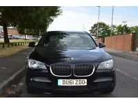 BMW 7 series 730D MSport pack, BMW approved used car. Low mileage, surround view 5 cameras, sunroof