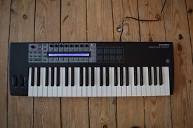 Novation Remote 49sl Compact Midi Controller keyboard