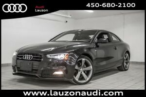2014 Audi A5 PROGRESSIV S-LINE BLACK OPTICS NAV CUIR