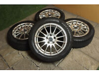 """Genuine FOX 16"""" Alloy wheels 5x110 Vauxhall Corsa Vectra Astra Zafira Alloys"""