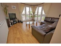 Modern-build 2 bedroom flat with en-suite facilities in Saughton available October – NO FEES