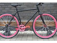 Brand new TEMAN single speed fixed gear fixie bike/ road bike/ bicycles + 1year warranty wwwm