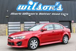 2016 Mitsubishi Lancer ES POWER PACKAGE! HEATED SEATS! KEYLESS E