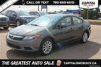 2012 Honda Civic EX *Keyless Entry-Sunroof-Audio Auxiliary Input