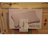 Wii fit board and soft wear
