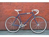 Brand new single speed fixed gear fixie bike/ road bike/ bicycles + 1year warranty & free service oq