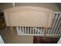 Headboard for double bed- as new