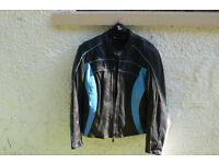 Leather Ladies Motorcycle Jacket