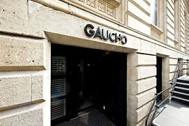 PART TIME / FULL TIME RECEPTIONIST FOR GAUCHO LEEDS